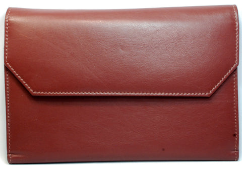 Girologio Leather 12 Pen Case Brown