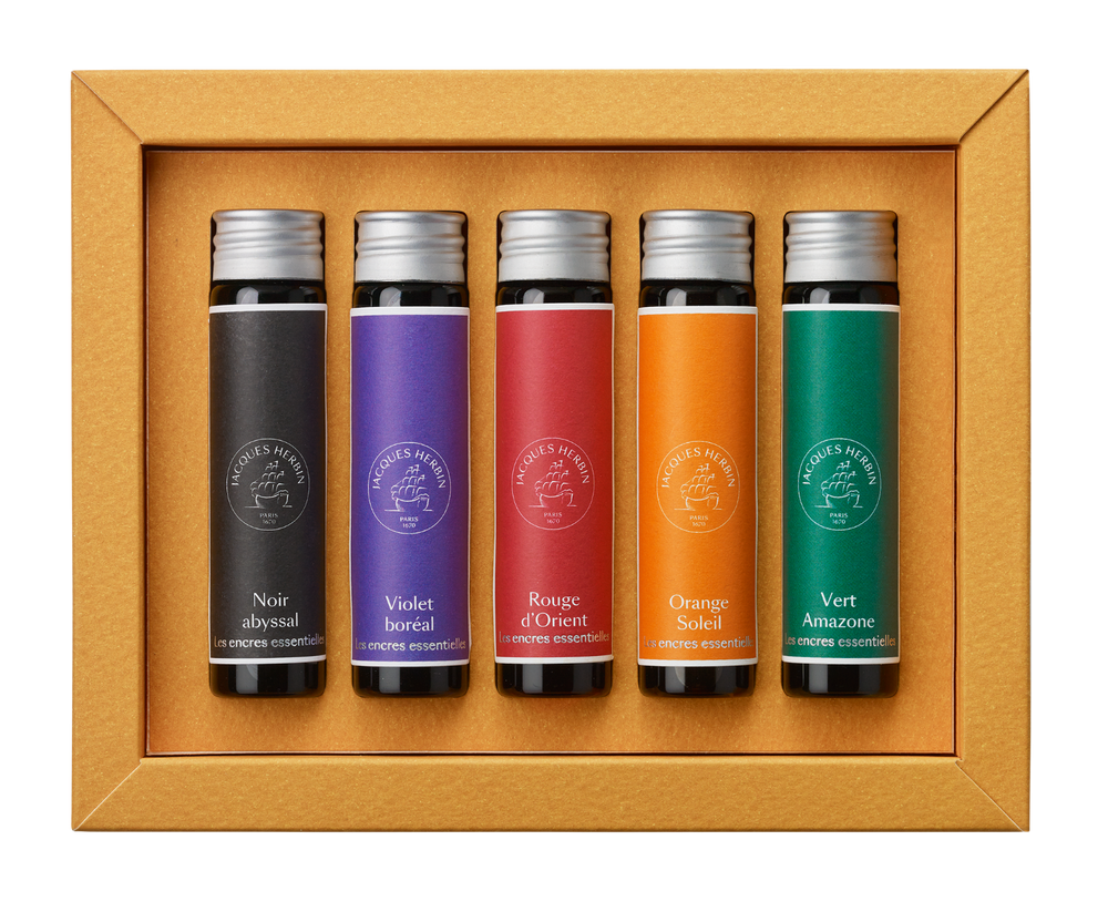 Jacques Herbin Essential Ink Miniature Set- Solaris