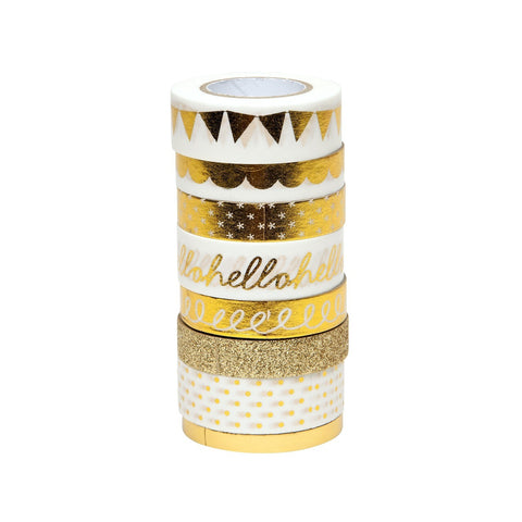 Love+Lemon Craft Co. Sparkling Gold Washi Tape