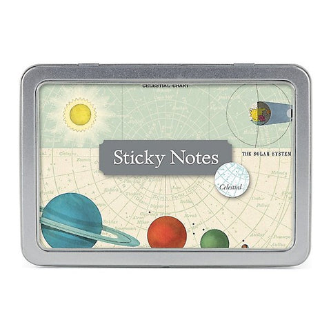 Cavallini & Co. Celestial Sticky Note Set