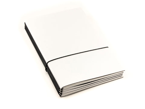 X17 SuperBuch A5 Refillable Notebook- White