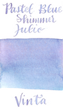 Vinta Inks Collection Pastel Blue Shimmer Julio 1991