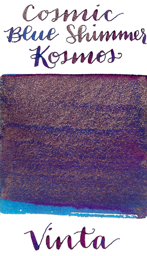 Vinta Inks Collection Cosmic Blue Shimmer Kosmos 1955