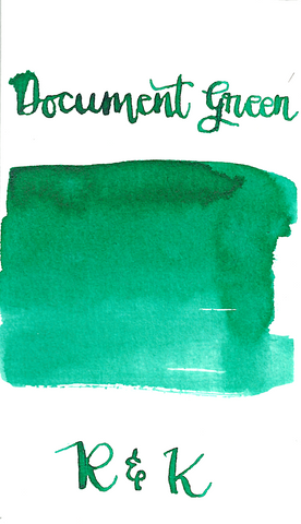 Rohrer & Klingner Document Grün/Green