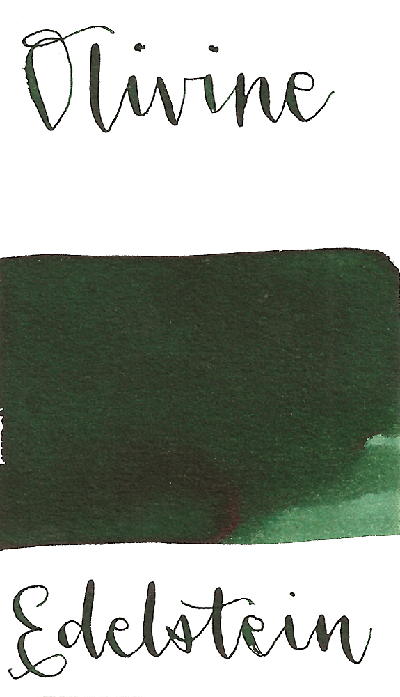 Edelstein 2018 Ink of the Year Olivine