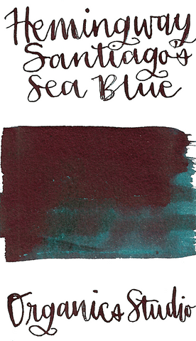 Organics Studio  Masters of Writing Ernest Hemingway Santiago's Sea Blue