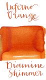 Diamine Shimmer Inferno Orange