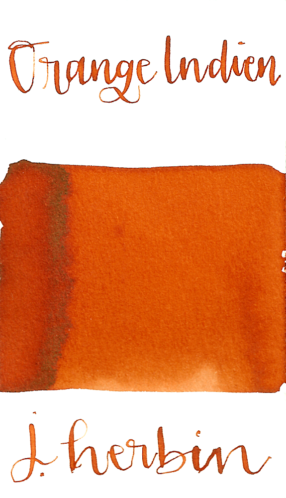 J Herbin Orange Indien