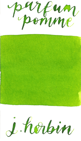J Herbin Scented Apple - Verte