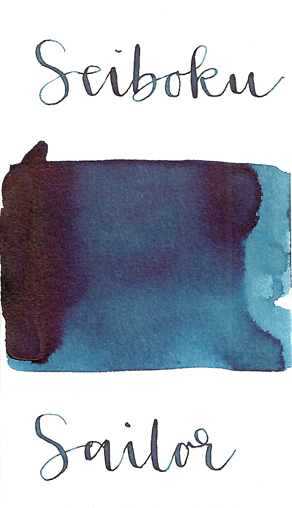 Sailor Sei Boku Blue-Black Pigmented Ink
