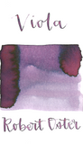 Robert Oster Viola is a bright spring purple fountain pen ink with medium shading.
