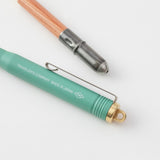 TRC Brass Ballpoint Pen Factory Green Limited Edtion