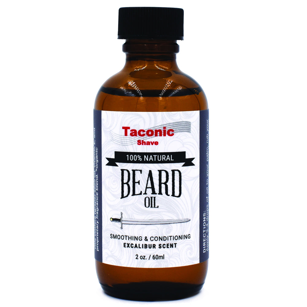 Taconic Shave Beard Oil - Excalibur Scent