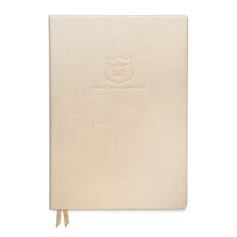 "DesignWorks Large Vegan Leather ""Today is the Day"" Agenda"