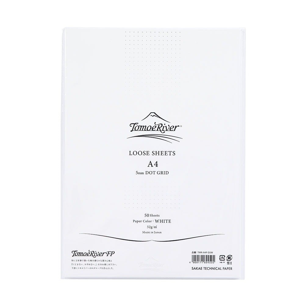 Tomoe River White A4 Loose Leaf