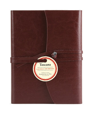 "Cavallini & Co. Red Toscana Journal 5"" x 6.5"""