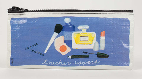 "Blue Q Pencil Pouch ""Toucher-Uppers"""