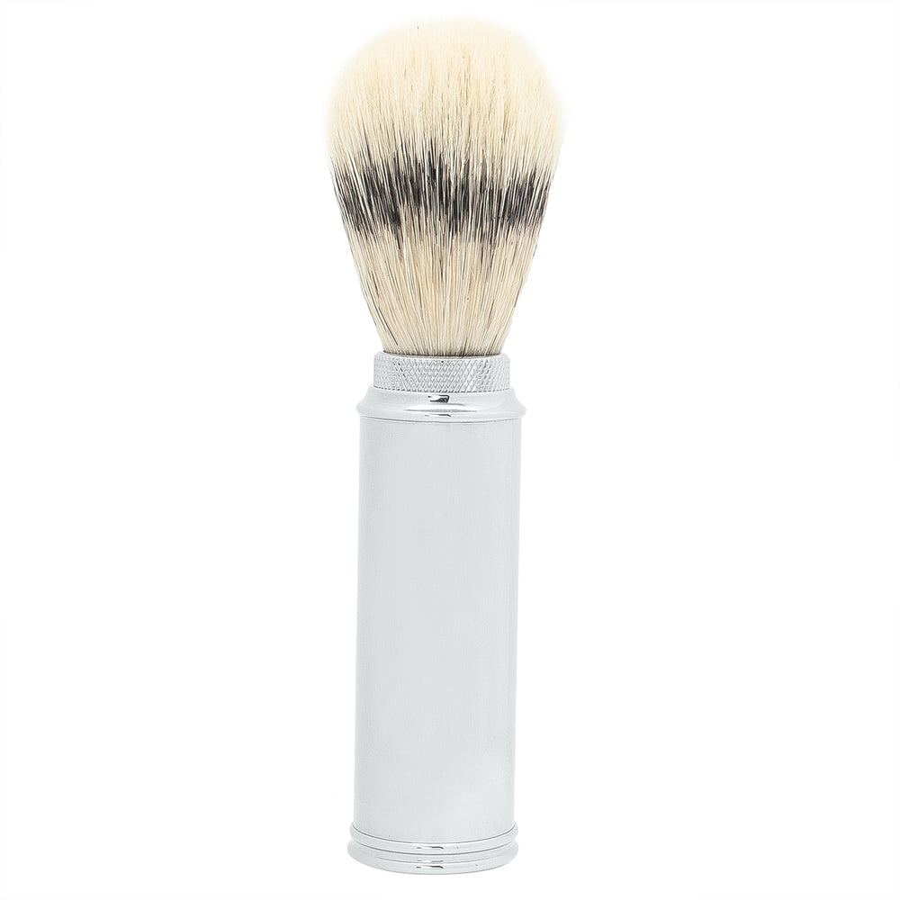 Naturally by Kingsley Travel Shaving Brush- Badger