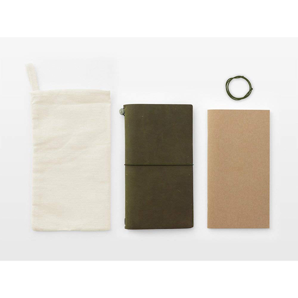 Traveler's Company Traveler's Notebook- Olive Limited Edition