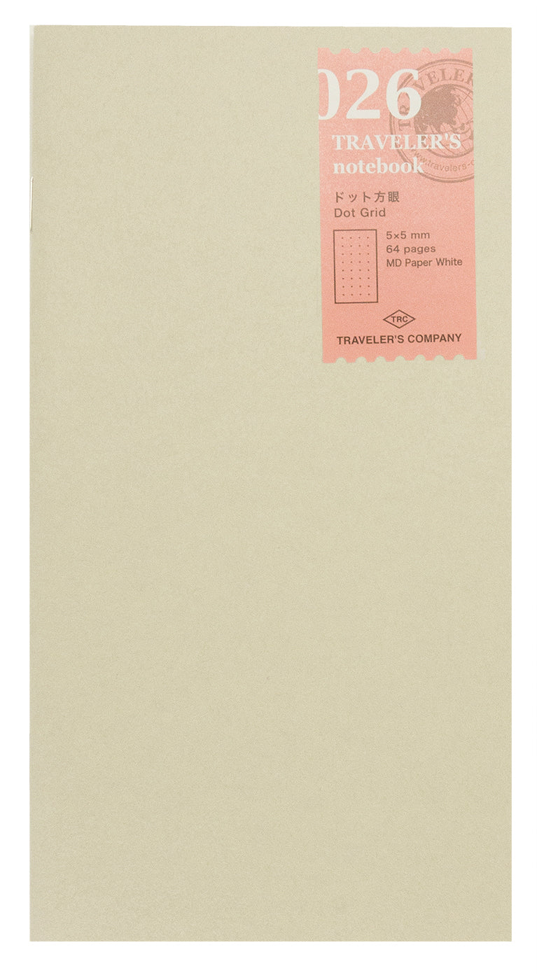 Traveler's Company Traveler's Notebook Refill- Dot Grid
