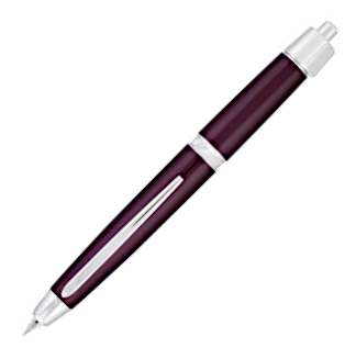 Pilot Vanishing Point LS Burgundy with Rhodium Trim