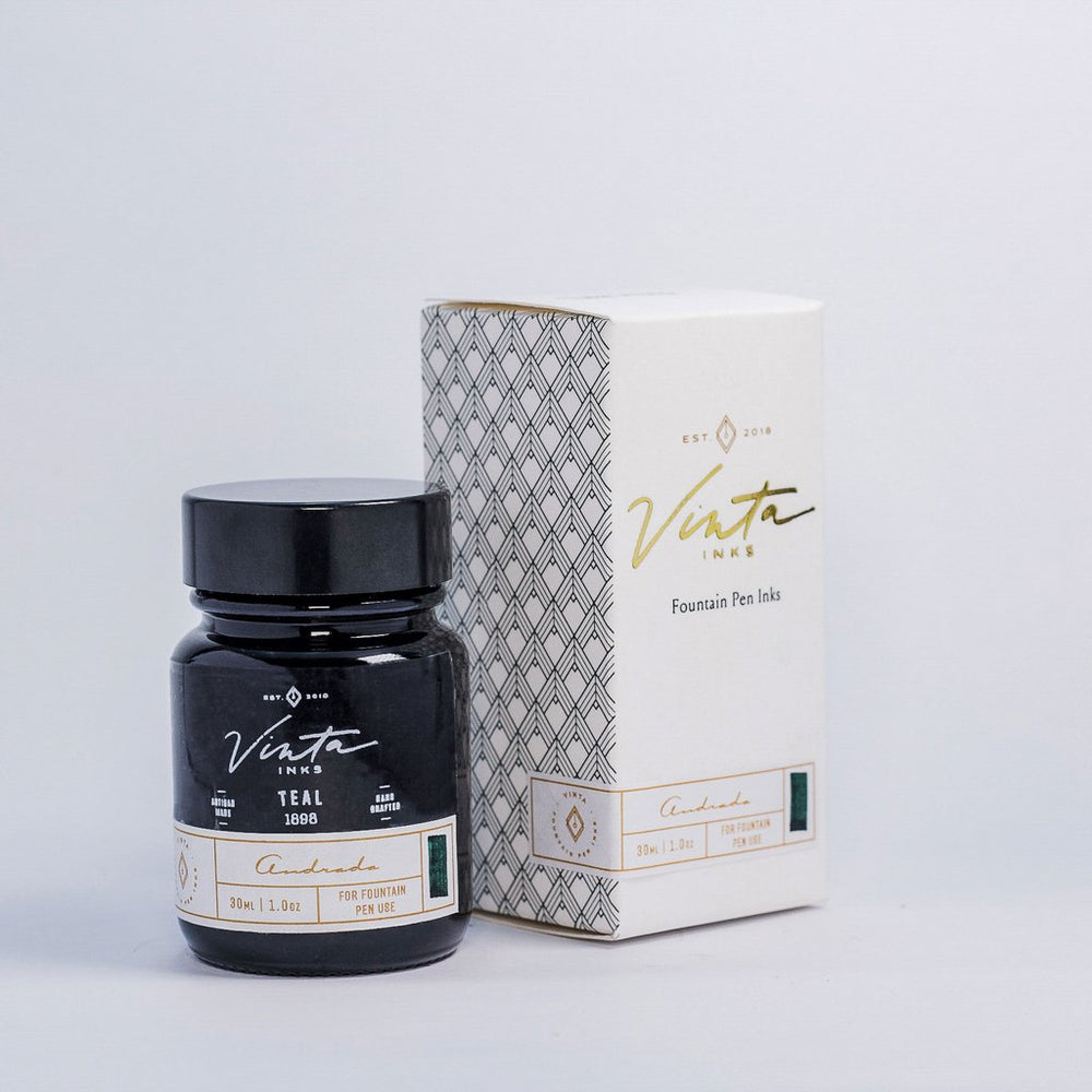 Vinta Inks Collection Teal Andrada 1898