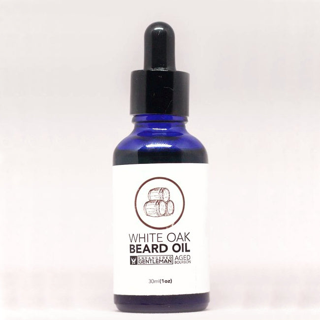 Endangered Gentleman White Oak Beard Oil