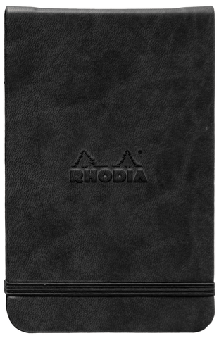 Rhodia Webnotebook 8.25 x 5.5 Black Lined