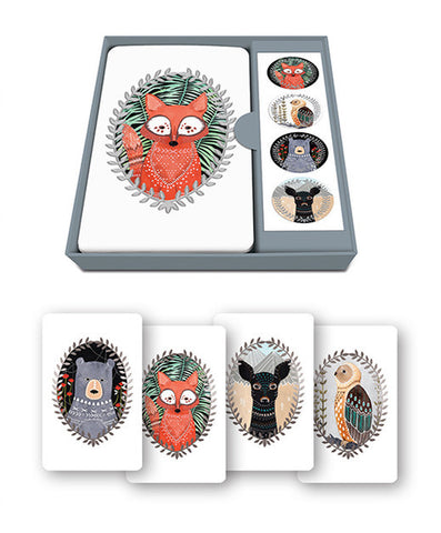 Studio Oh! Woodland Creatures Note Card Set