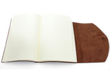 Curnow Bookbinding Wrap-around Tan Alligator Texture Leather Journal