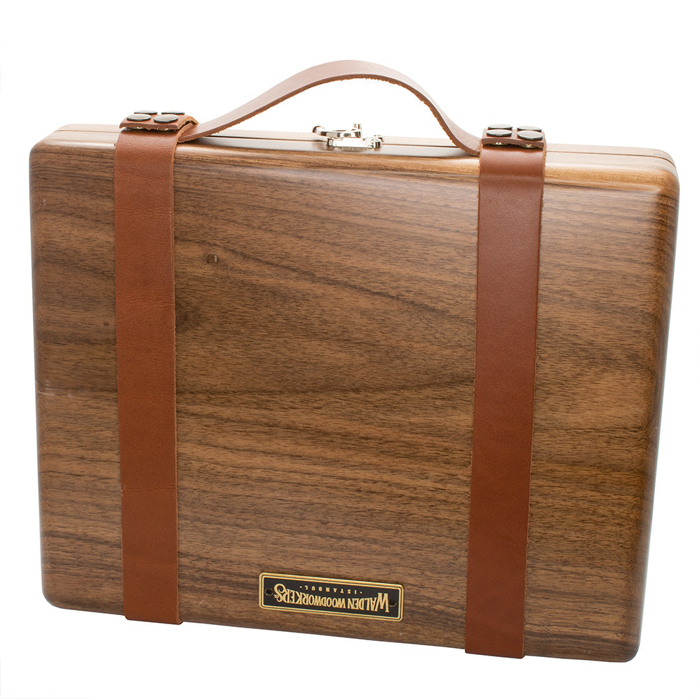 Galen Leather Co. Leather Carry-On Kit for The Writing Box