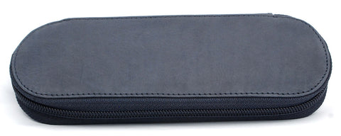 Giro Logio Zippered 2 Pen Case Navy Blue