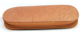 Girologio Zippered 2 Pen Case Tan