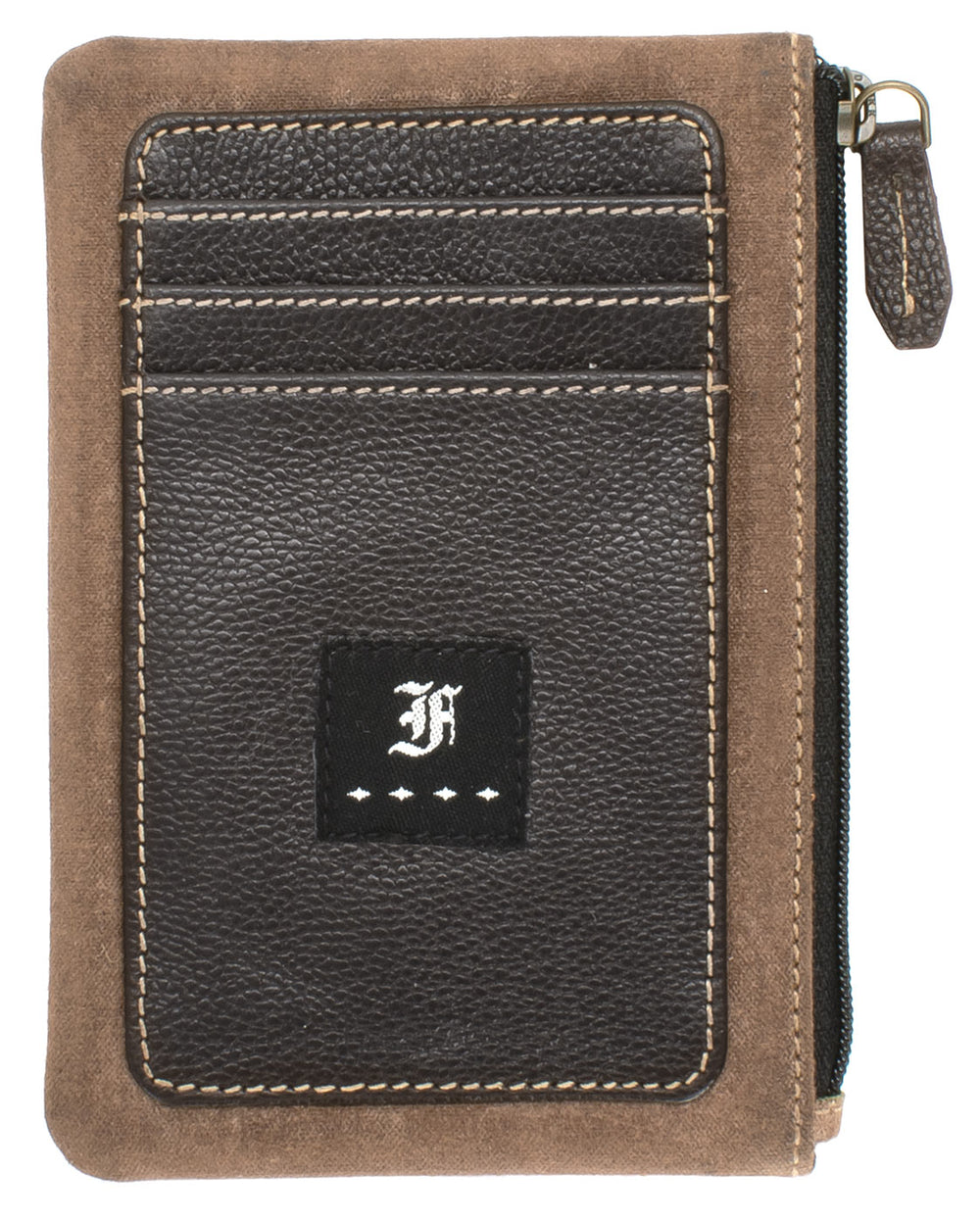 Franklin Christoph Zippered Card Wallet