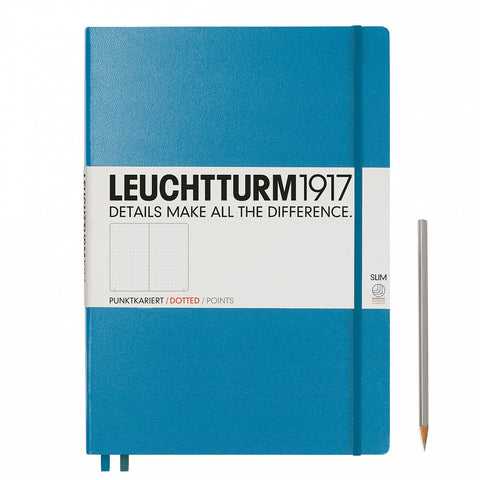 Leuchtturm1917 A4+ Master Slim Journal - Nordic Blue