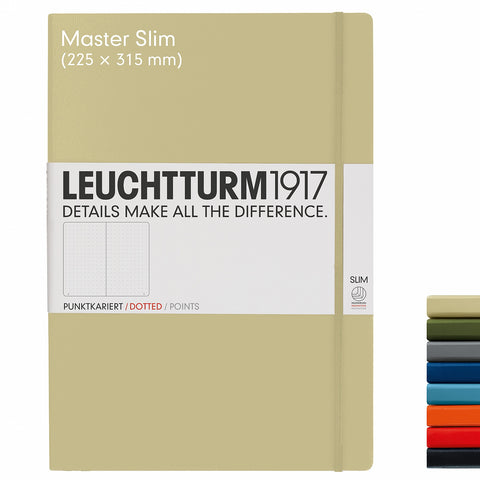 Leuchtturm1917 A4+ Master Slim Journal - Sand