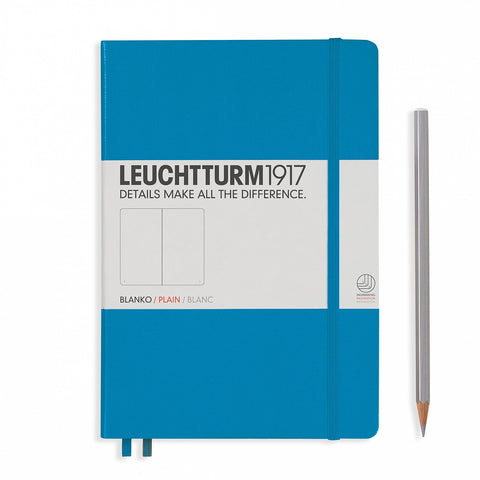 Leuchtturm1917 A5 Journal - Azure
