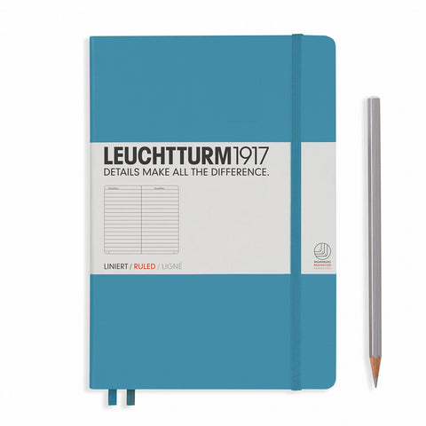 Leuchtturm1917 A5 Journal - Nordic Blue