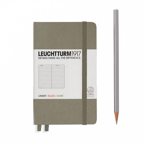 Leuchtturm1917 A6 Hardcover Journal - Sand
