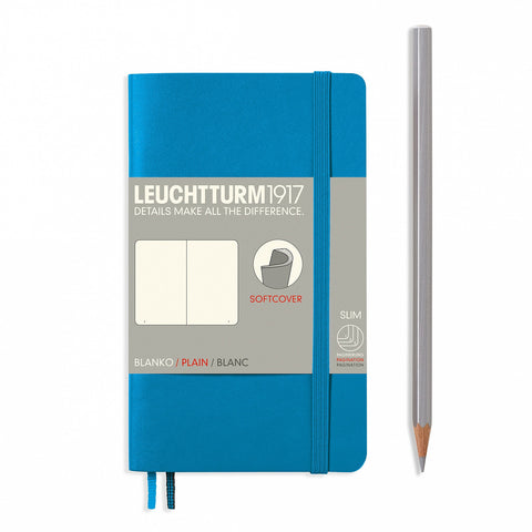 Leuchtturm1917 A6 Softcover Journal - Nordic Blue