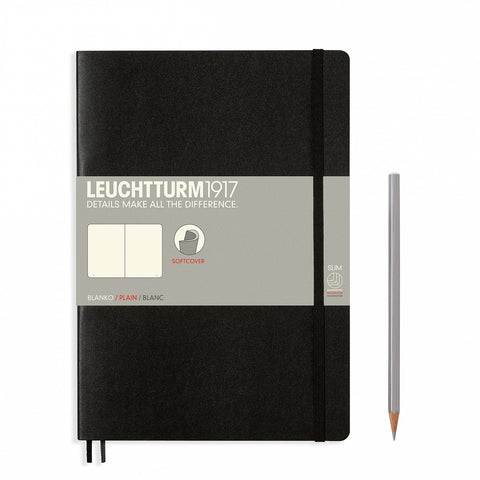 Leuchtturm1917 B5 Composition Notebook - Black