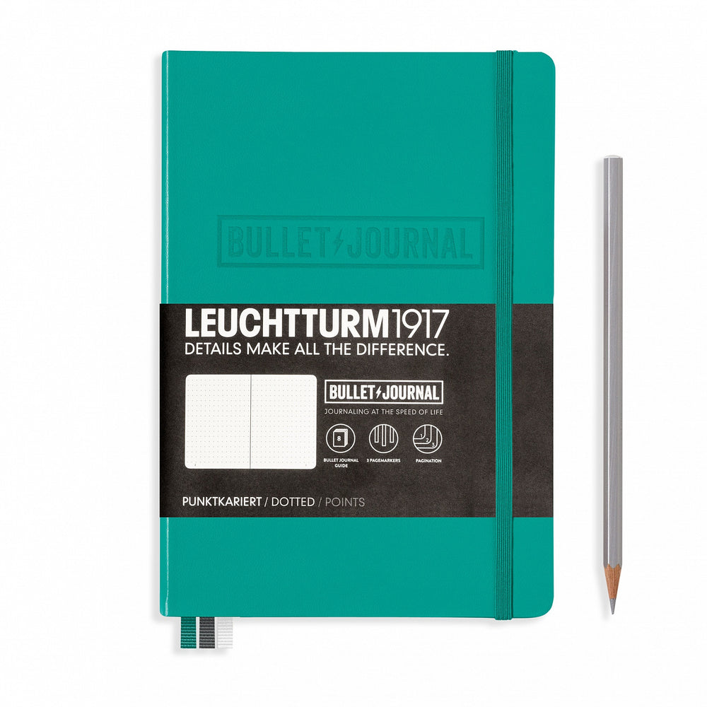 Leuchtturm1917 A5 Bullet Journal Emerald