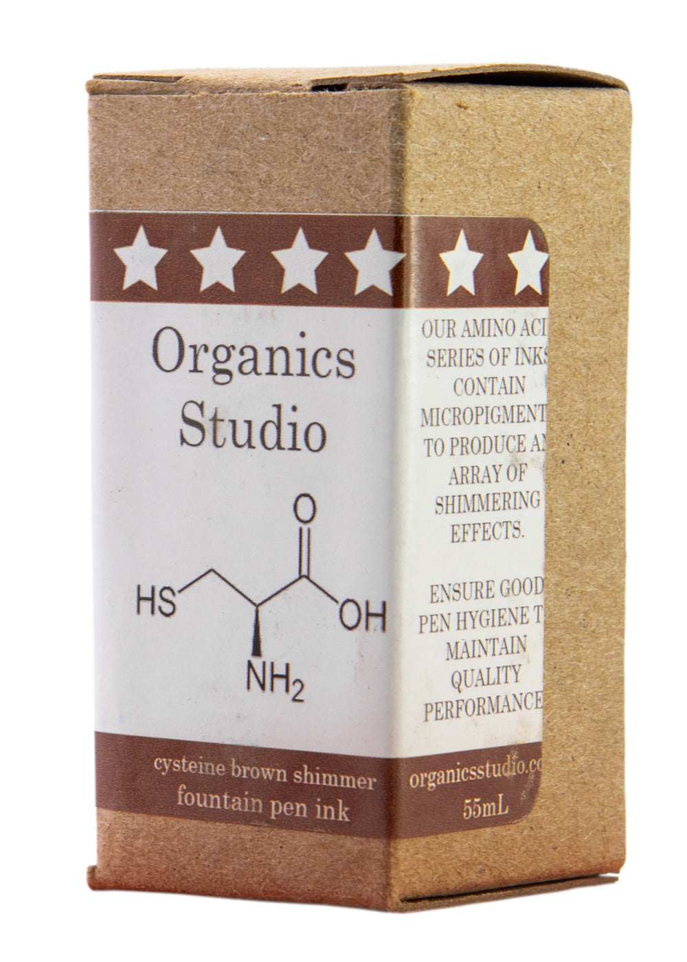 Organics Studio Elements Cysteine Brown Shimmer