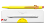 Caran d'Ache 849 Claim Your Style Ed. 2 Canary Yellow Ballpoint
