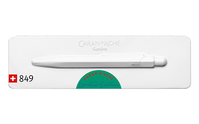 Caran d'Ache 849 Claim Your Style Ed. 2 Veronese Green Ballpoint