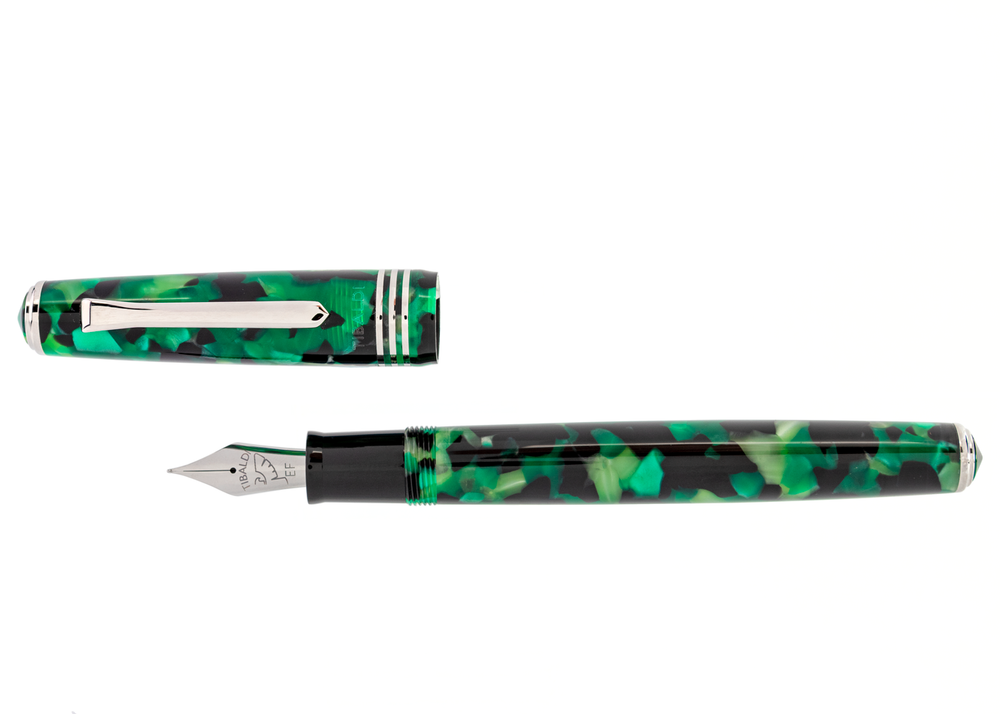 Tibaldi N60 Emerald Green Resin Fountain Pen