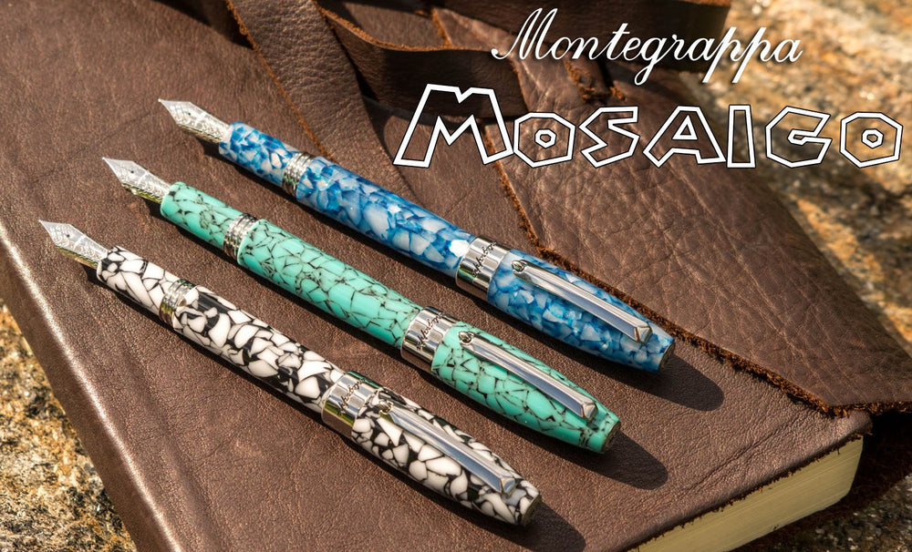 Montegrappa Mosaico Marrakech Fountain