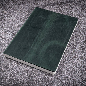 Galen Leather Co. Leather Notebook - Tomoe River Paper - A5 Crazy Horse Green