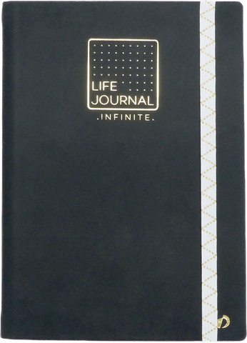 Quo Vadis Life Journal Infinite- Black