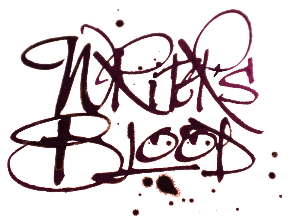 Diamine Writer's Blood Reddit Ink Project